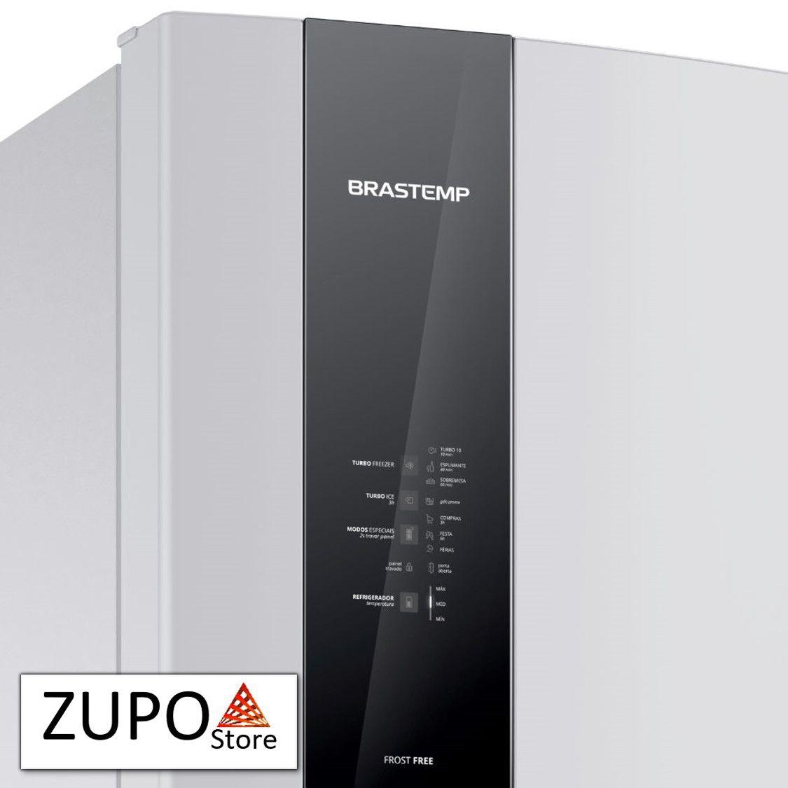 Refrigerador Brastemp 462 Litros Branco - BRM56AB - 127V