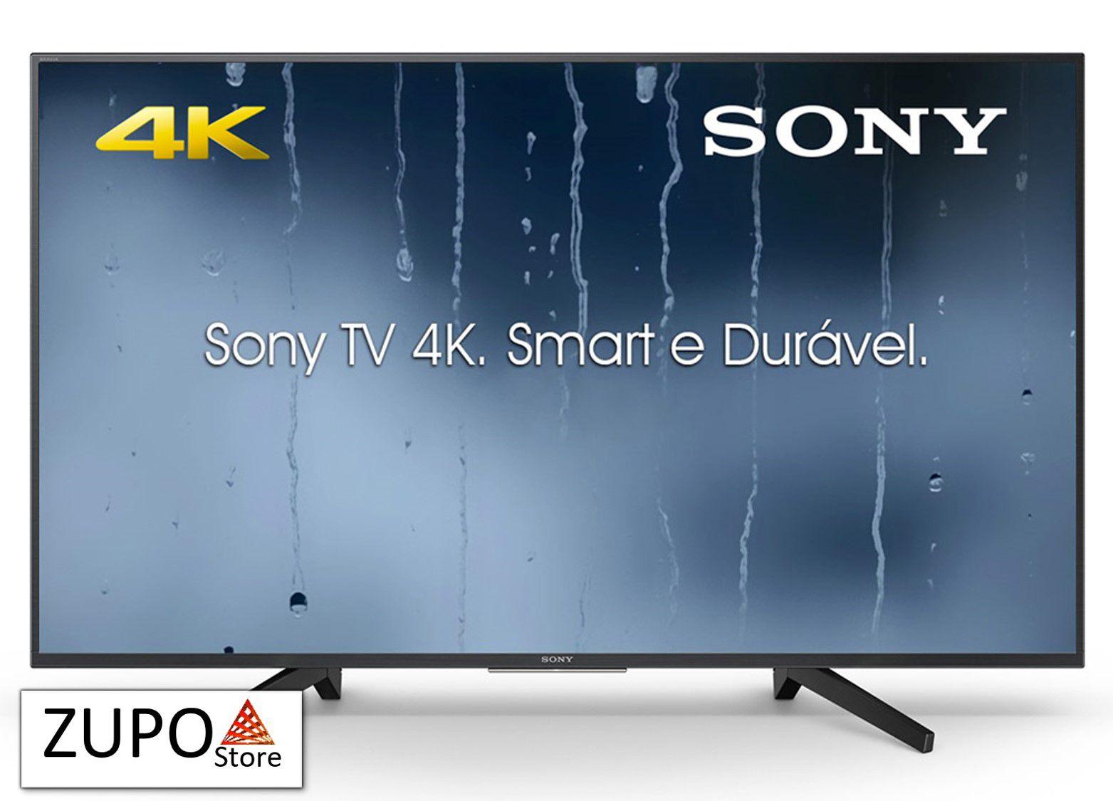 """Smart TV 49"""" 4K Sony - KD49X705F - Bivolt"""