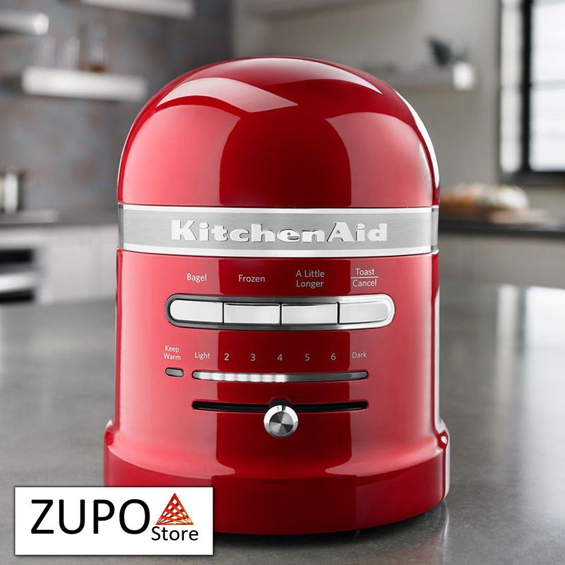 Torradeira 2 Fatias Automática Proline Candy Apple KitchenAid - 127V