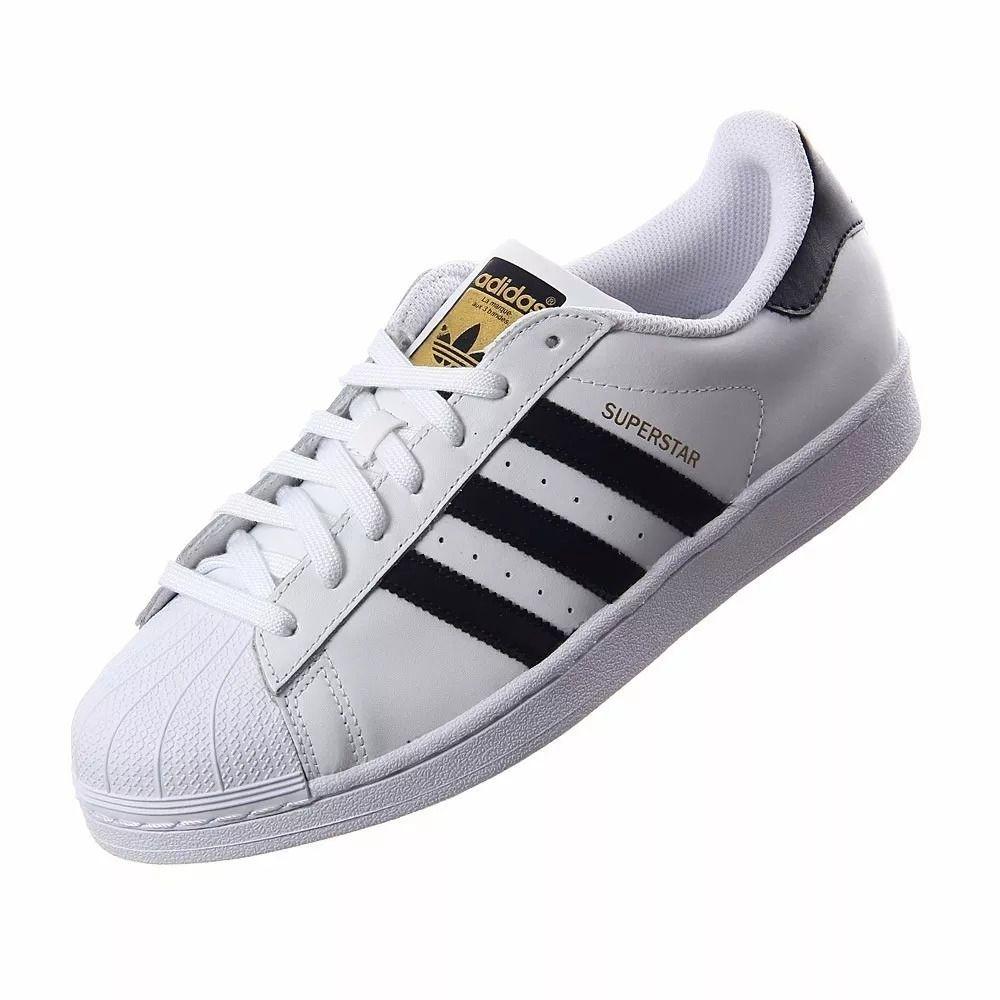 d6ee82c64ad Adidas Super Star Branco Com Listras Pretas - roud.com.br