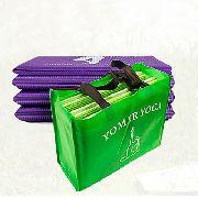 Yoga 5mm Tapete Pvc Antiderrapante Esteira Dobravel Fitness