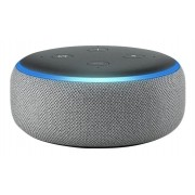 Amazon Smart Speaker Alexa Echo Dot 3ª Geração Cinza Linda