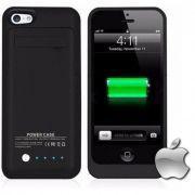 Capa Bateria Externa Para Iphone 7 - 8 G - Preta Wireless Charging Model 22701