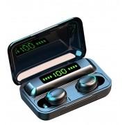 Tws bluetooth 5.0 fone de ouvido 2200mah caixa carregamento sem fio a prova dágua