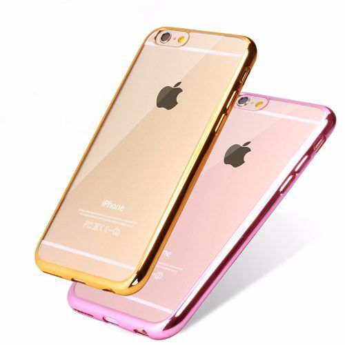 - Case Iphone7 Ultra Fina Crystal Clear Galvaniza Silicone A02