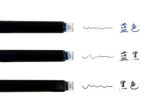 Caneta + 10 Cargas Escritorio Office Estudante Tinta 0.38mm