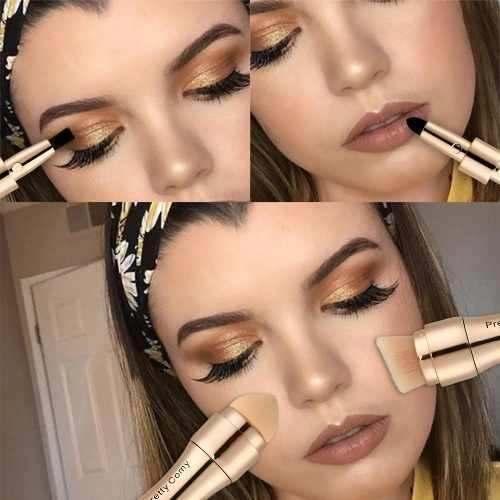Pincel De Maquiagem Corretivo Base Maquiagem Brush Contorno