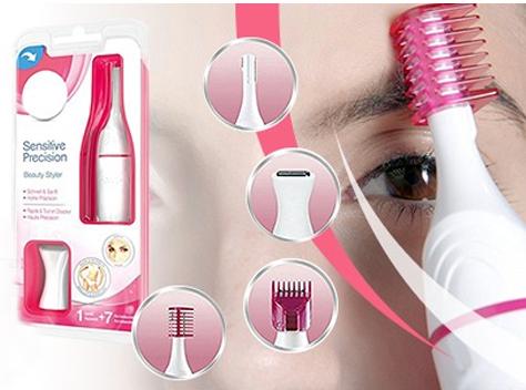 5in1 Aparador Sobrancelha Virilha Trimmer Facial Removedor de Pelos