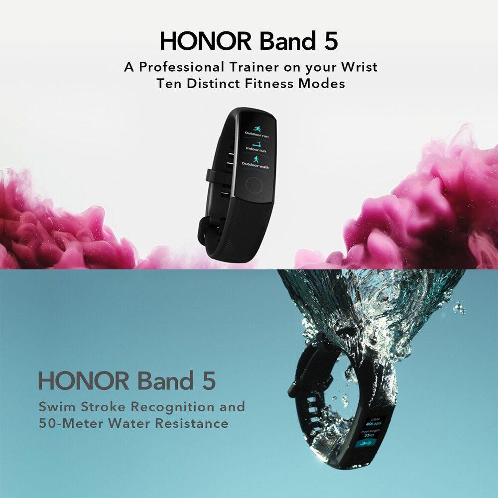 Honor Band 5 Inteligente Versão Global Oxigênio No Sangue
