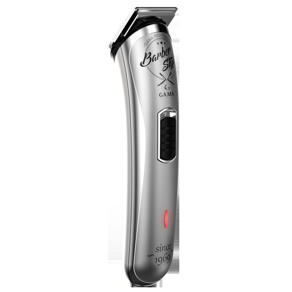 Máquina Barber de Acabamento Ga.ma Style GT527 Prata / Preto USB