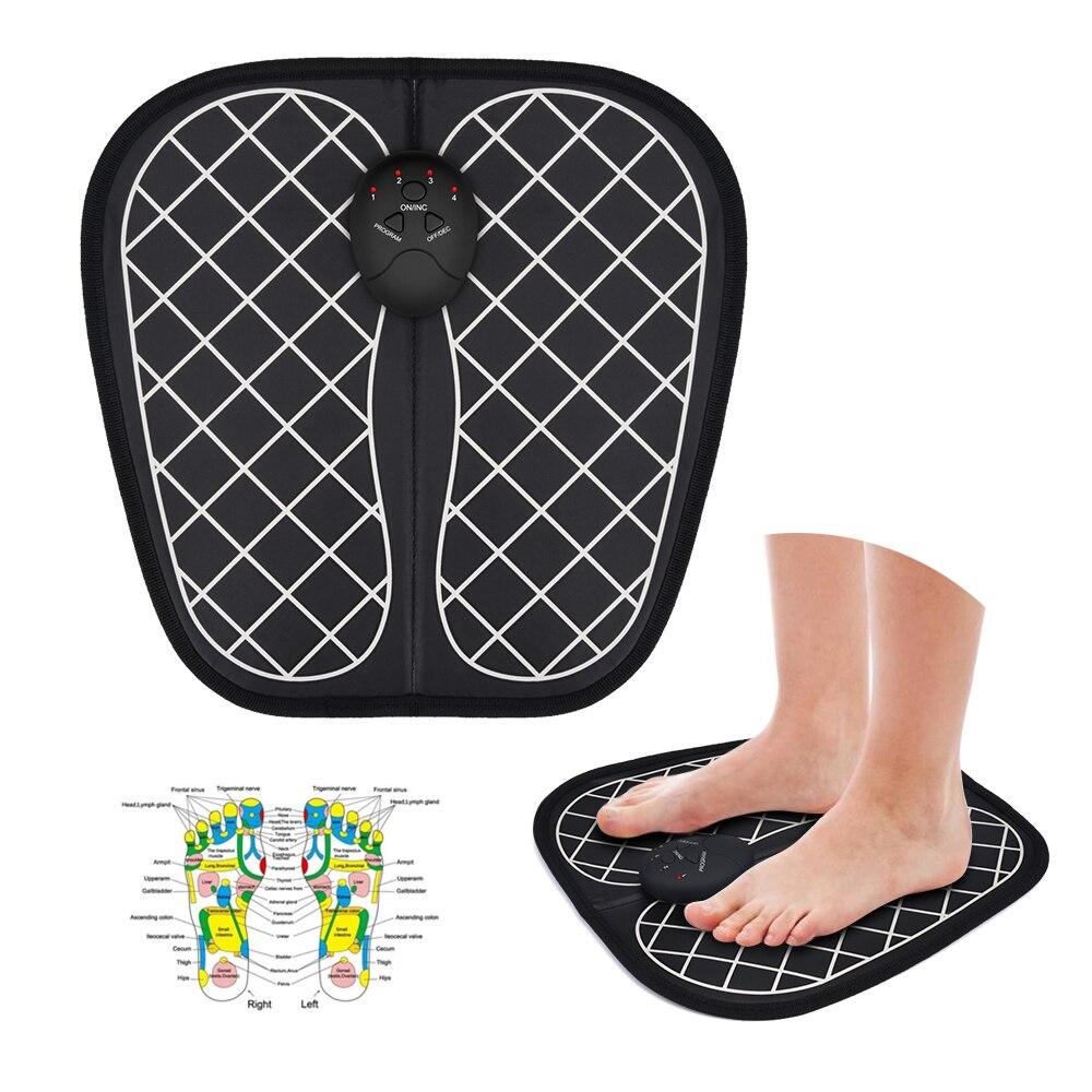 Massageador Fisioterapia para pé estimulador muscular sem fio