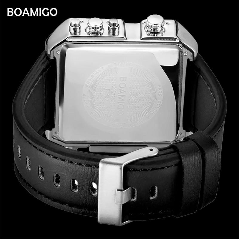Relógio Estilo Bon Jovi 3 Fusos Original Esportivo Masculino