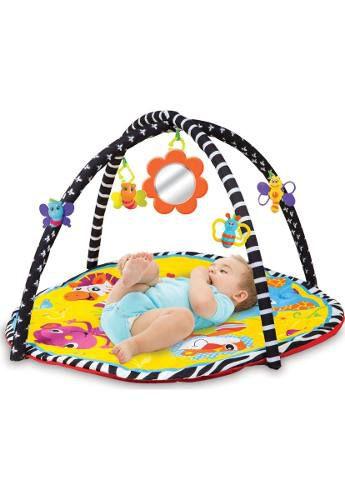 Tapete Atividade Baby Buba Preto Bebe