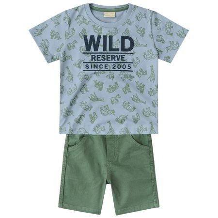 Conjunto Milon Infantil Menino Wild