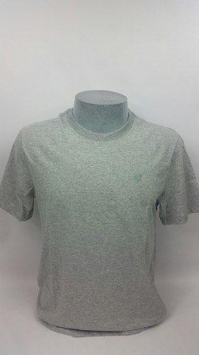 Camiseta Cavalera Masculina Lisa Original Conforto Cinza