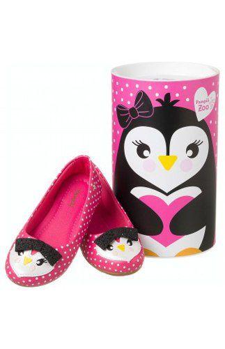 Sapatilha Pampili Infantil Menina Pinguim