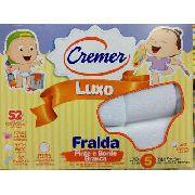 Fralda Cremer Luxo Menino 5 Unidades