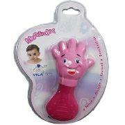 Mordedor Vila Toy Maozinha Rosa Bebê