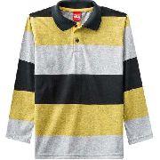 Camisa Polo Infantil Masculina Kyly Meia Malha