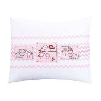 Travesseiro Colibri Amiguinhos Rosa