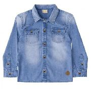Camisa Milon Infantil Jeans