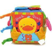 Cubo Fazenda Musical KS Kids Brinquedo