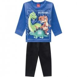 Conjunto Kyly Masculino Infantil Meu Dino