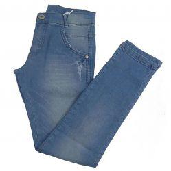 Calça Pull-ga Masculina Infantil Jeans Azul