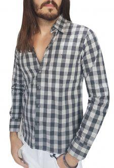 Camisa Masculina Yatchtmaster Xadrez Conforto