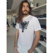 Camiseta Branca Cavalera Águia