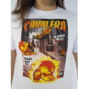 Camiseta Cavalera Masculina Manga Curta Blanka