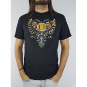 Camiseta Cavalera Masculina Manga Curta Bomberman