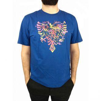 Camiseta Cavalera Masculina Águia Pintura Aquarela