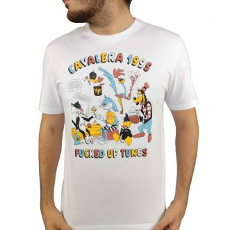 Camiseta Cavalera Masculina Fucked Up Tunes