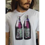 Camiseta Cavalera Masculina Garrafa Original