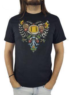 Camiseta Cavalera Bomberman Masculina Manga Curta