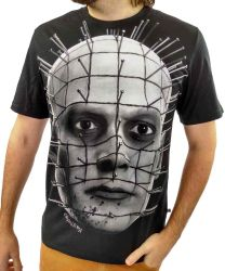 Camiseta Cavalera Masculina Personagem Pinhead
