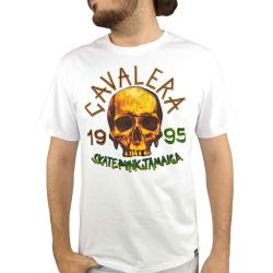 Camiseta Cavalera Masculina Skate Punk Jamaica