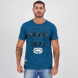 Camiseta Ecko Masculina Azul