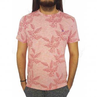 Camiseta Masculina Ogochi Manga Curta Estampada