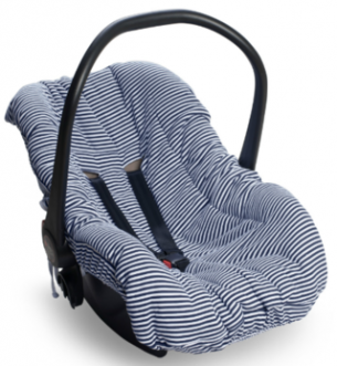Capa Bebê Conforto Hug Navy Boy Azul