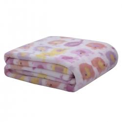Cobertor Camesa Baby Flannel Elefantes