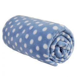 Cobertor Camesa Baby Microfibra Bolinhas