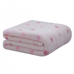 Cobertor Camesa Baby Microfibra Bolinhas Poa
