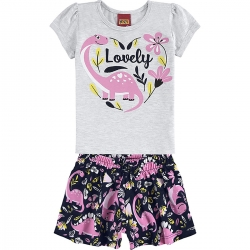 Conjunto Kyly Feminino Bebê Lovely