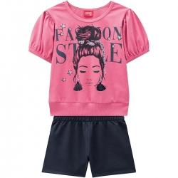 Conjunto Kyly Feminino Infantil Fashion