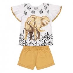 Conjunto Nanai Feminino Infantil Elefante