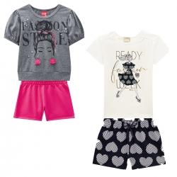kit de Conjuntos Femininos Fashion