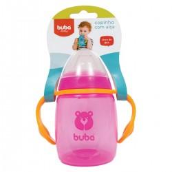 Copo Buba Baby Urso Treinamento Rosa