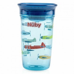 Copo Nuby 360 Treinamento Copo Mágico Tampa Wonder Cup 300ml